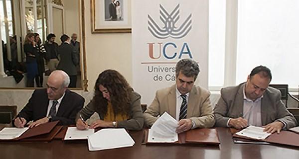 UCA, UNAM y CEI·Mar firman dos convenios de cooperación en arqueología subacuática y lingüística